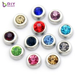 12pcs lot Round floating charms for necklace & bracelets fashion charms accessories glass Locket charms LSFC117