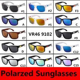 Brand Sunglasses 9102 Polarized Sunglasses for Women Mens Unisex Sport Cycling Sunglasses for Bike Driving Outwear Glasses GSA002