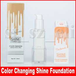 Tailaimei Pro Classic 60ml TLM Color Changing Shine Foundation Cream Magic Flawless Lasting Perfecting Liquid Concealer