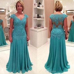 2019 Plus Size Lace Chiffon Mother of the Bride Dresses for Weddings A Line Prom Evening Groom mother Dresses Custom Made