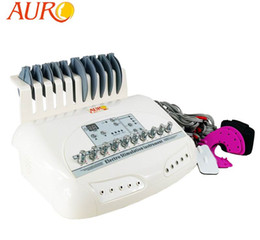 EMS machine with Russian Wave faradic Muscle stimulate weight loss electro acupuncture Beauty machine CE approval AU-6804B