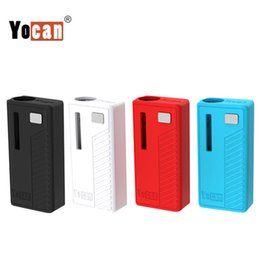 Authentic Yocan Rega Box Mod E Cigarette Vape Mod 320mAh Preheat VV Vape Battery Fit 510 Thread Battery With Side Window Super Portable
