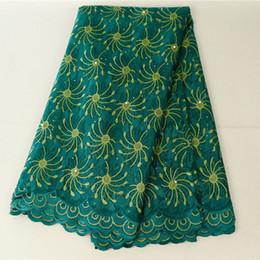 Pretty Nigerian Lace Fabrics 5yards Per Lot African French Lace Fabric Arabic Lace Fabric For Wedding Dress Evening Prom Wears 426-19