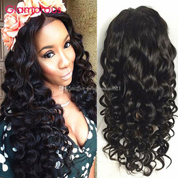 Glamorous Malaysian Natural Wave Human Hair Wigs Natural Color 10-30Inch Adjustable Lace Front Wig Peruvian Brazilian Indian Full Lace Wigs