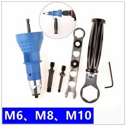 Electric Rivet Nut Gun riveting tool riveting Drill Adaptor Insert nut tool riveter adaptor M10 T03021