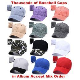Hot Sale Baseball Cap for Adults Men and Women Hip Hop Adjustable Gorras Summer Cap Accept Drop Shipping Choose from Album