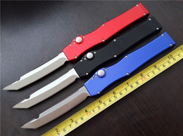 4.6'' 150-4 V 5 T E Elmax steel pocket knife Tanto point Single action survival gear Tactical knife knives with plastic sheath