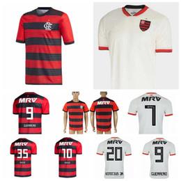 18 19 Season CR Flamenco Jersey Men Soccer 9 GUERRERO 10 DIEGO 19 DOURADO 20 URIBE 11 PAQUETA 4 JUAN Football Shirt Kits