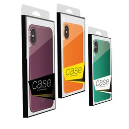Universal PVC Plastic Retail Packaging Package Box for Phone Case iPhone X XS 8 7 6 6S Plus NO Insert
