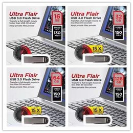 2019 Hot Selling Flair Ultra USB 2.0 32GB 64GB 128GB Flash Drive Memory PenDrive U Disk in Retail Package DHL Shipping 1 Day Dispatch