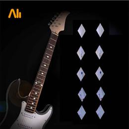 Guitar Bass Fret Sticker DIY sticker on guitar neck - 10 pcs rhombus shape MU1288-51