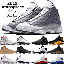 2019 men 13 Atmosphere Grey basketball shoes mens 13s love and respect He Got Game CP3 Home black cat barons hologram designer trainers