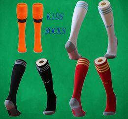 2019 Kid's Soccer Socks Mexico Knee High Stocking Argentina Thicken Towel Bottom Long Hoses Colombia sports socks Boys football stocking