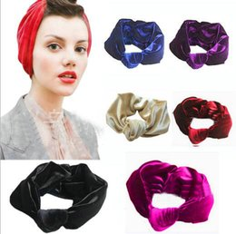 12pcs lot Beautiful pleuche Elastic Absorb sweat Women Boho Hair Head Wraps Accessories Fashion No Slip Wide sports yoga Hairband Headbands