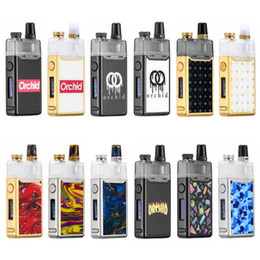 Original Orchid IQS Pod Kit 950mAh Built-in Battery 3ml vape cartridges Airflow Control 0.8ohm Mesh Coil Head For MTL DL Vaping