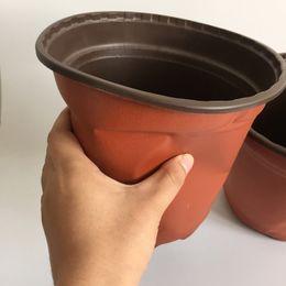 D18xH16CM Large Plastic Nursery Pots big Pot Plastic Flower Pots caliber corrosion resistance Nursery planter SF-094-18