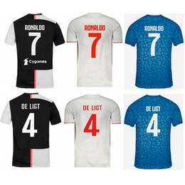019 RONALDO JUVENTUS Soccer Jersey 2020 JUVE kids Home away DE LIGT DYBALA HIGUAIN BUFFON Camisetas Futbol Camisas Maillot Football Shirt