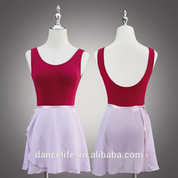 Free shipping In stocks A2326 wrap skirt ballet dance skirt girls georgette chiffon dance wrap skirts