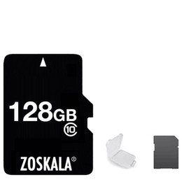 100% pass h2testw ok Genuine REAL 256gb 128GB 64GB 32GB 16GB 8GB Micro SD TF Memory Card C10 Class 10 with free SD Adapter small White Case