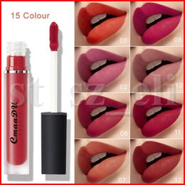 CmaaDu Lipgloss 15 Colors Liquid Lipstick Waterproof Sexy Red Ultra Ever Lasting Dream World Matte Lip Color gloss