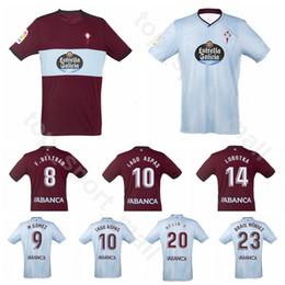 2019 2020 RC Celta de Vigo Jersey Soccer BONGONDA HERNANDEZ NOLITO 10 IAGO ASPAS 9 Maxi Gomez BRAIS MENDEZ Football Shirt Kits Uniform
