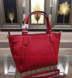 new 100% genuine leather women tote hand Bags famous name women bag lady shoulder trapeze bag 290