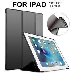 MOQ 1PCS Smart Case For iPad 9.7 2017 2018,iPad 2 3 4,iPad Air 1 2,Mini 1 2 3 4 Case Filp Leather W  Soft Silicon Back Cover Coque