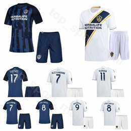 Los Angeles LA Galaxy 2019 2020 Soccer 5 Daniel Steres Jersey Set 12 Chris Pontius Uriel Antuna Diego Polenta Football Shirt Kits Uniform