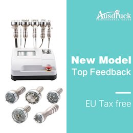 Eu tax free Ultrasonic Liposuction Cavitation Radio Frequency RF vacuum head Weight Loss Machine