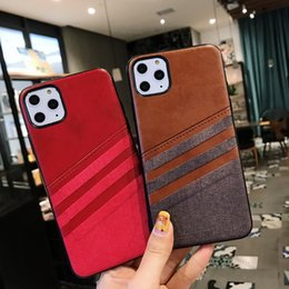 For Apple iphone 11 Case Luxury Leather PU+TPU Skin Protective Back Cover Case for iphone 11 Pro Max iphone11 11pro Full Cover