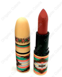 Makeup Stain Lipstick Vibe Tribe Lipstick Bohemia Style Cosmetic Rouge A Levres 3g With English Name 12pcs