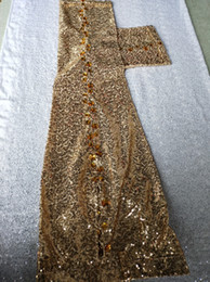 Freeship mens stage performance golden sequined beading pants