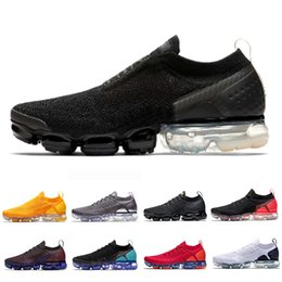 first rate 3d9b1 23678 Vapeur chaude en Ligne-Nike Air Vapormax 2.0 vm vapor max 2 shoes Triple  Black