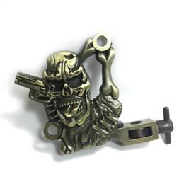 Tattoo Machine Handmade Misfits Low Relief Tattoo Machine Frame Liner Shader Packer