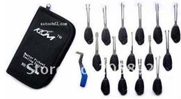 KLOM 16pcs scissors deft hand pick tools,lock pick tool,locksmith tools