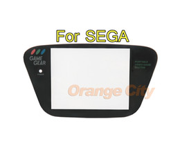 Plastic Black For Sega Game Gear Replacement Screen Protector Cover Lens For GG plane