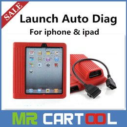 Wholesale in stock Original Launch X431 iDiag connector Auto Diag For IPAD And iPhone IOS better than x431 diagun DHL