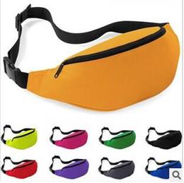 Wholesale 200pcs CCA2552 Unisex Portable Multifunction Sport Runner Fanny Pack Belly Waist Bum Bag Fitness Running Jogging Belt Solid Pouch Waist Bag