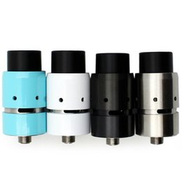 Wholesale new Velocity RDA Rebuildable Dripper Atomizer Clone with Wide Bore Drip Tips Air Holes Adjustable Airflow Fit Mechanical Mods
