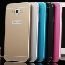 Wholesale Samsung Model Aluminum Metal Frame Acrylic Back Cover Case Samsung Galaxy J5 J7 A5 A7 S6 S7 Edge Note Note