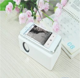 Wholesale Magic Mutual Inductance Wireless Speaker Audio Interaction Amplifying Speaker magic boost speaker for Universal phones iphone samsung MP3