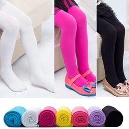 Wholesale Children Leggings Tights Skinny Pants Child Clothing Fashion Candy Color Leggings Long Trousers Kids Casual Pants Girls Tights color B001