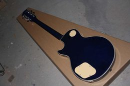 Wholesale belief14 Hot new guitar mahogany body piuckup LP Ace Frehley Signature blue electric guitar In stock