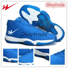 Wholesale Famous Trainers Retro Future Mid Mens Sports Basketball Shoes Varsity Royal Varsity Royal White