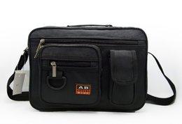 Wholesale-Hot selling men's briefcase, leisure business messenger bag, men inclined shoulder bag