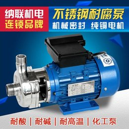 Wholesale United New satisfied acid and alkali resistant stainless steel corrosion resistant pump chemical self priming centrifugal pumps