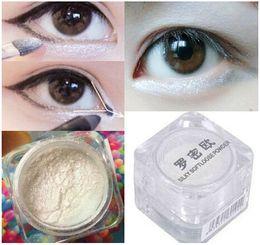 Wholesale New Eye Shadow Powder White Pearl Glitter High Pearl Eyeshadow