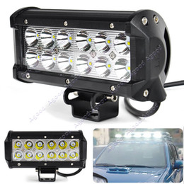 Wholesale 7 Inch W Cree Car LED Work Light Bar LM Spot Beam ALL Cars x4 Off Road Lamp