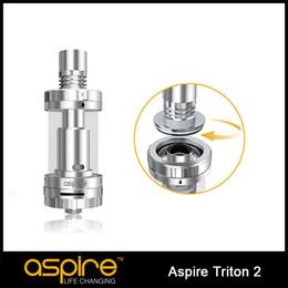In Stock!! Original Aspire Triton 2 Tank 3.5ml 0.5 Ohm Dual Airflow Control Upgraded Aspire Triton 2 tank Free shipping