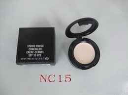Wholesale - Free Shipping,New Studio finish concealer cache-cernes spf 35 fps 7g in box (24pcs   lot)